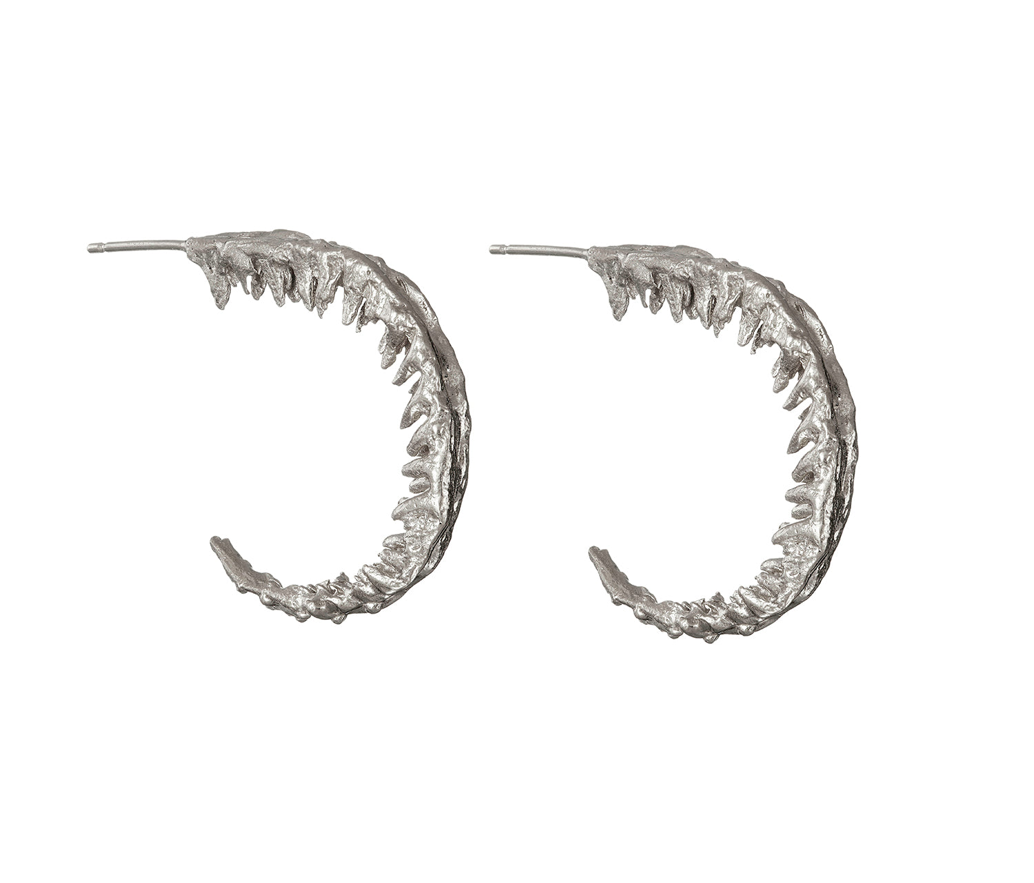 Fern hoop earrings - EilyOConnell
