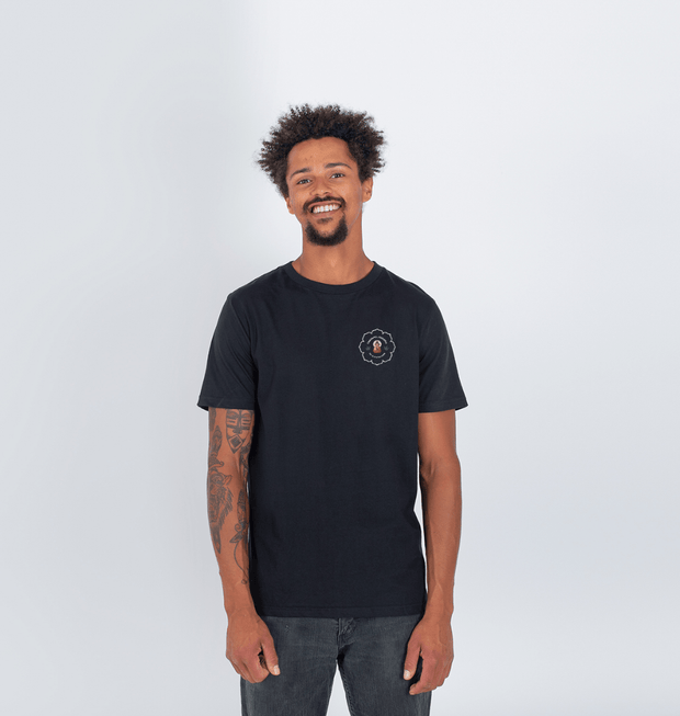 Organic, recycled & recyclable circular fibre T Shirt - Black