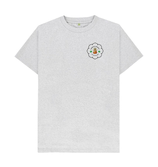 Grey Organic, recycled & recyclable circular fibre T Shirt - White