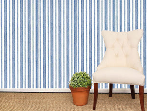 Boxwood Stripe Wallpaper - Sister Parish