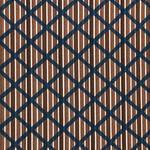 Sister's Stripes With Lattice Fabric
