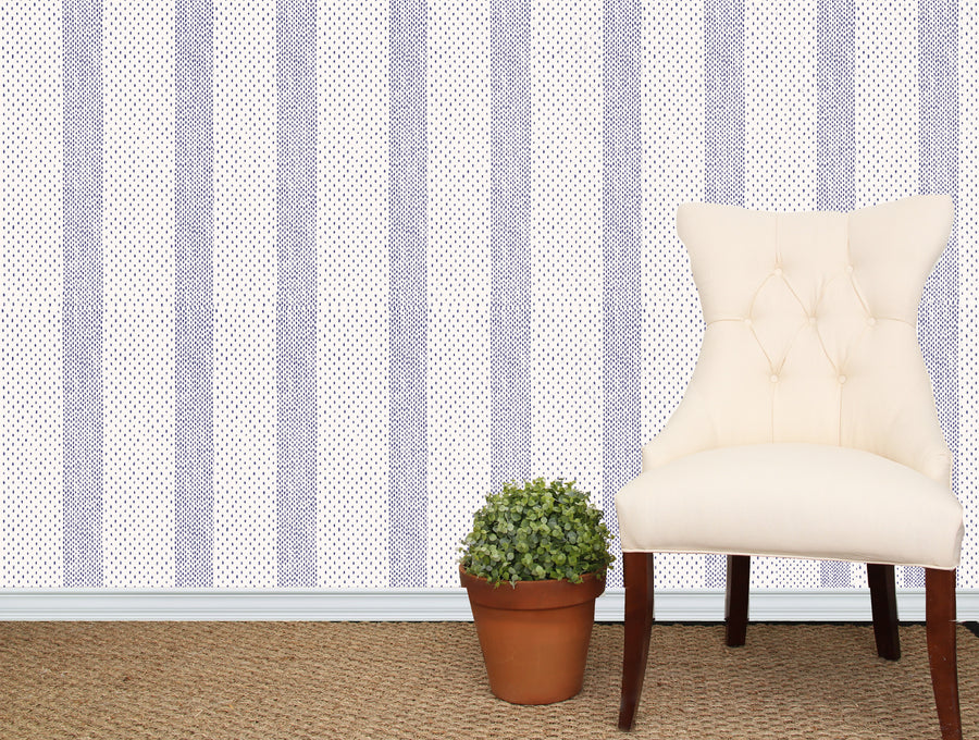 Kinnicutt Stripe Wallpaper