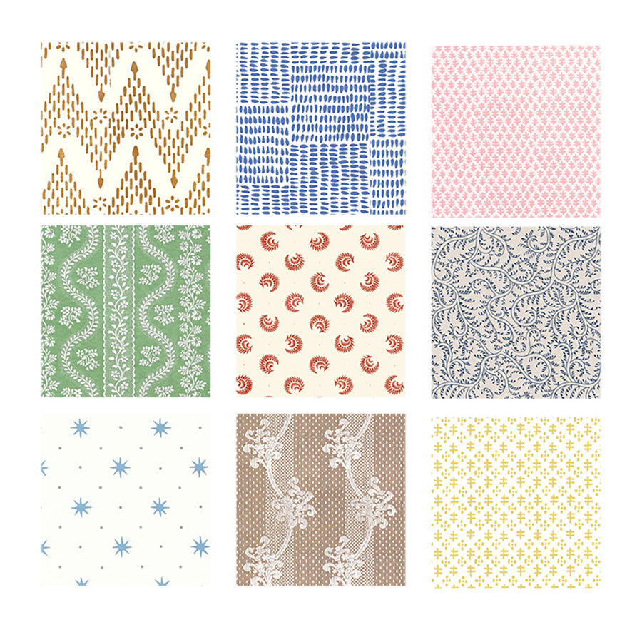 Swatch Set All Wallpapers - Sister Parish