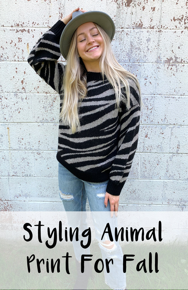 Styling Animal Print for Fall