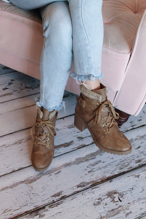 Taupe Hike Boot