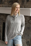 Grey Brushed Kanga Turtle Top