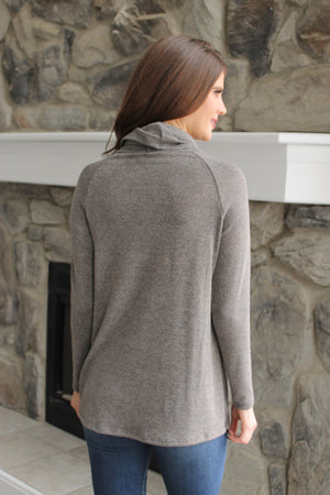 Grey Cowl tunic