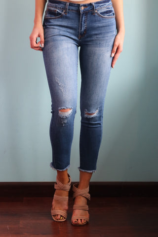 Mid Rise Dream Denim