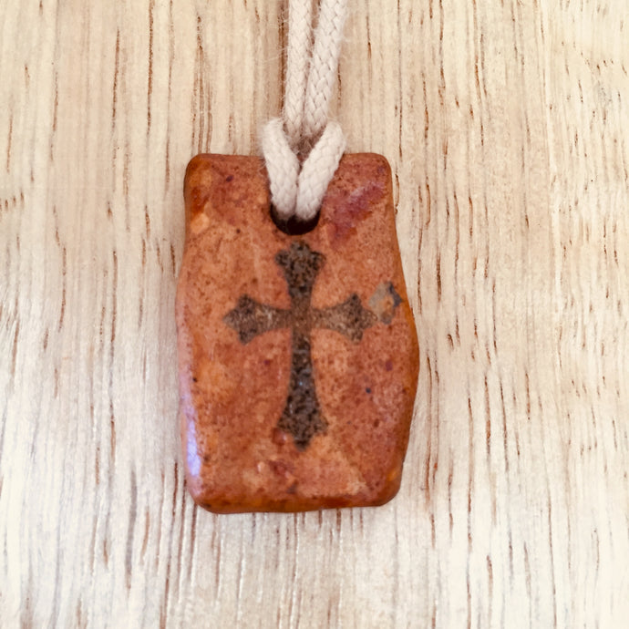 Rectangle clay Cross
