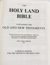 Load image into Gallery viewer, HOLY LAND BIBLE
