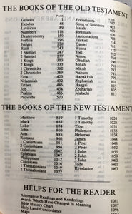 HOLY LAND BIBLE