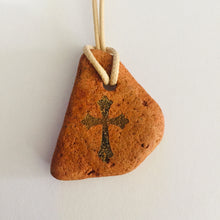 Load image into Gallery viewer, Natural Clay with Bethlehem Cross