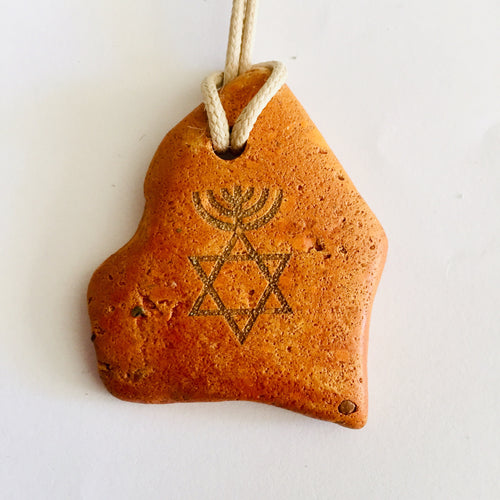 MESSIANIC CLAY NECKLACE