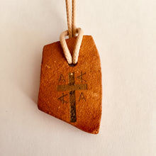 Load image into Gallery viewer, Initial A to E cross pendants