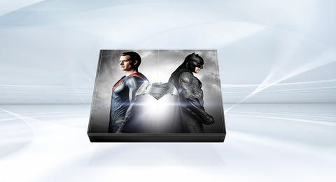 Picture of Batman v Superman: Dawn of Justice: The Art of the Film (Super Hero Edition) – Signed by Henry Cavill (Superman), Gal Gadot (Wonder Woman) and Ben Affleck (Batman) – and presented with a sketchbook signed by Zack Snyder