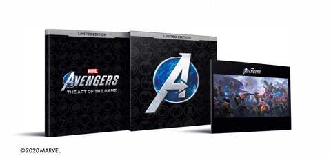 Picture of Marvel's Avengers: The Art of the Game limited edition SIGNED