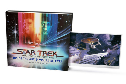 Picture of Star Trek The Motion Picture - Inside The Art and Visual Effects. Debut copies with Exclusive artcard.