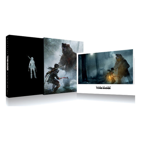Picture of RISE OF THE TOMB RAIDER – THE OFFICIAL ART BOOK | LIMITED EDITION