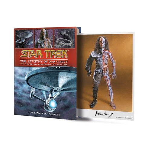 Picture of Star Trek The Artistry of Dan Curry - Pre-Order Exclusive with Limited Edition signed artcard (available Dec. 1)