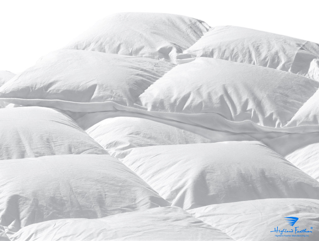Boras - Lightweight European White Goose Down Comforter 233TC/550 Loft