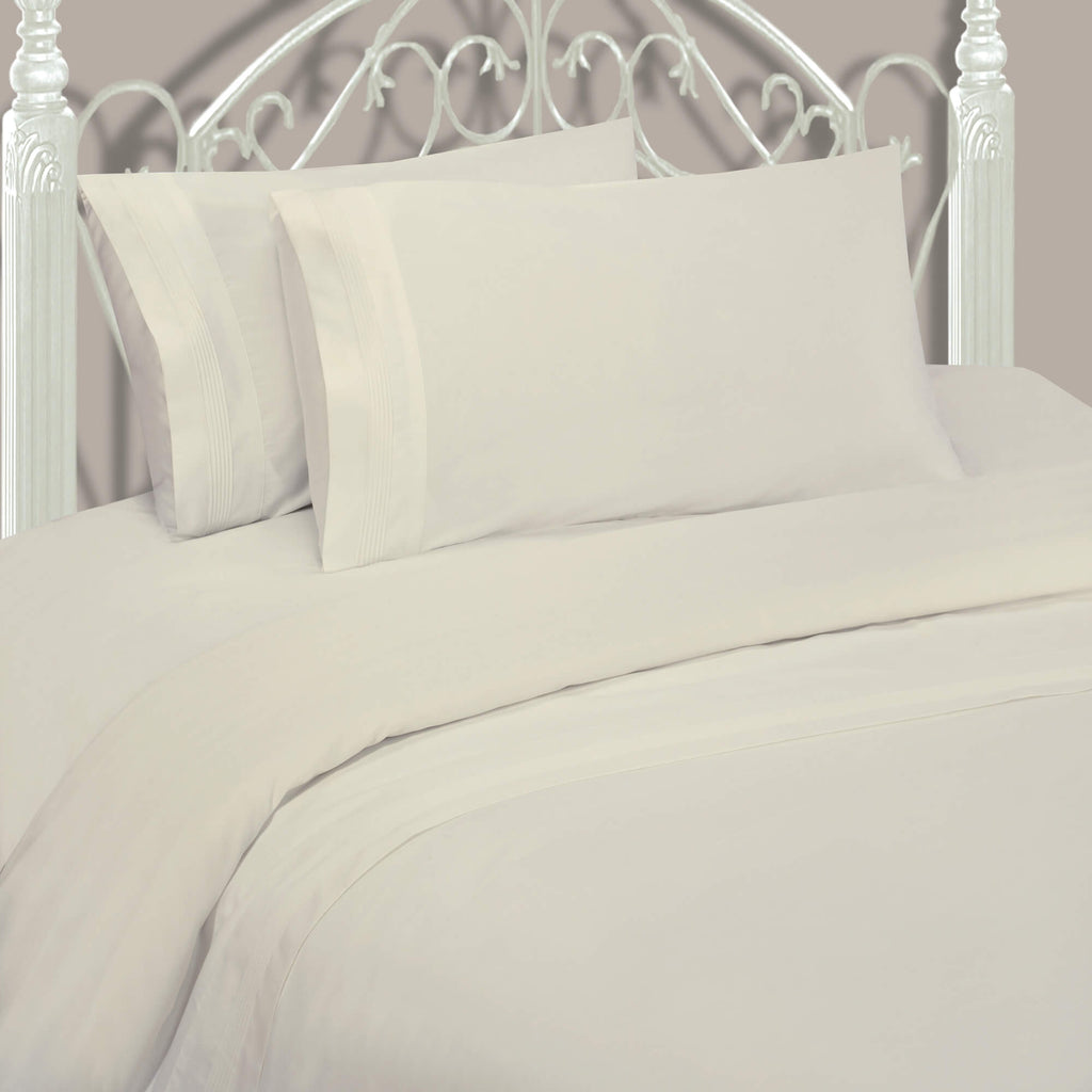 600 Thread-count Sheet Set Ivory