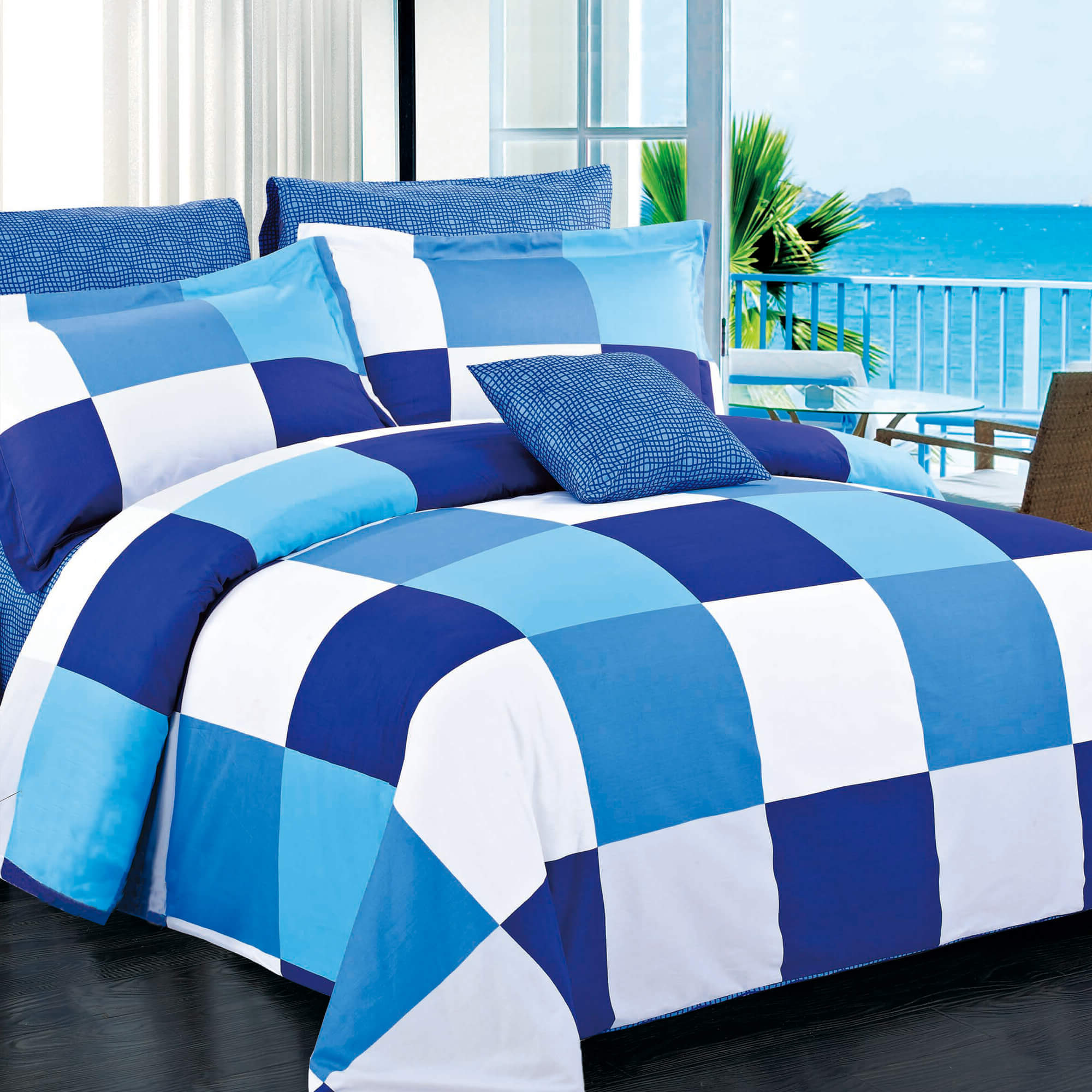 Park Navy Duvet Cover Set
