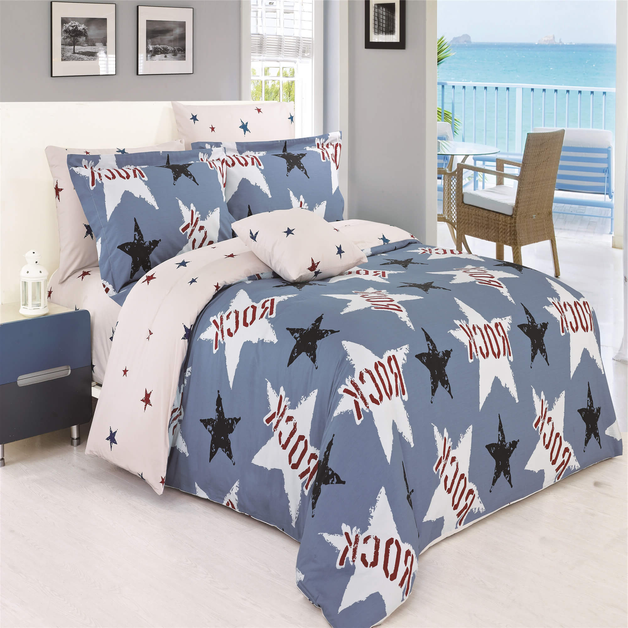 Rock Duvet Cover Set