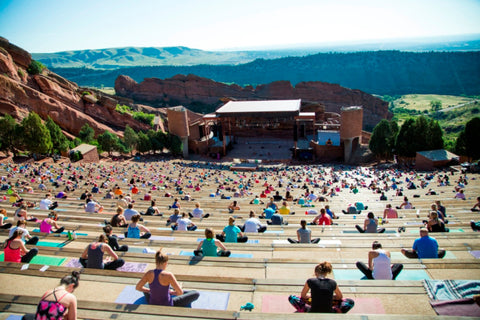 Looking for a great yoga class? Try Red Rocks.