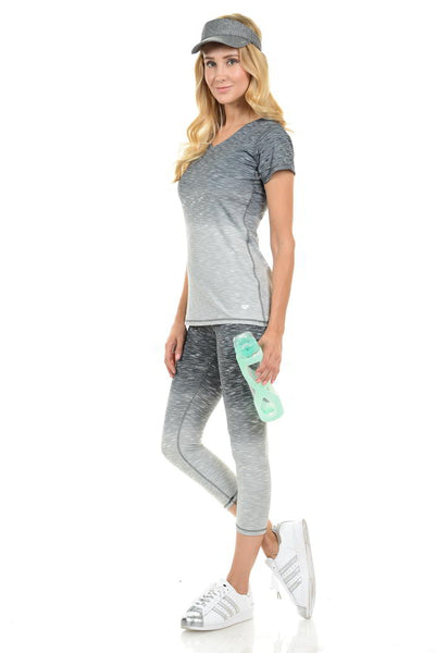 Diamante Yoga Legging - C004A