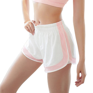 Double Layer Women Yoga Running Shorts