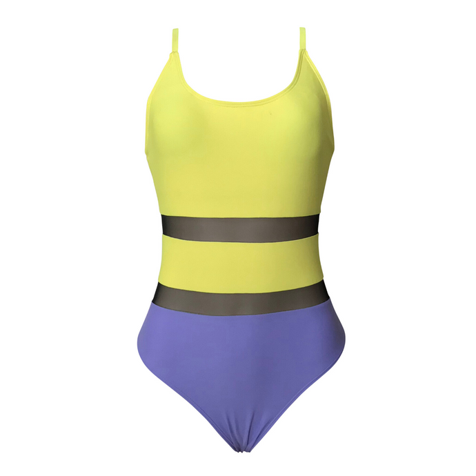 Brooklyn Sport Color Block One Piece
