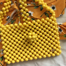 Load image into Gallery viewer, Cindy Summer Bead Bag [Yellow]