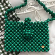 Load image into Gallery viewer, Cindy Summer Bead Bag [Green]