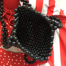Load image into Gallery viewer, Cindy Summer Bead Bag [Black]