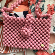 Load image into Gallery viewer, Cindy Summer Bead Bag [Pink]