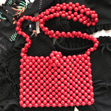 Load image into Gallery viewer, Cindy Summer Bead Bag [Red]