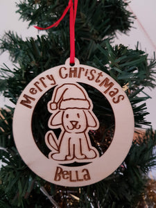 Dog Christmas Bauble