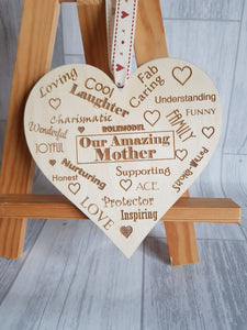 mother's day, heart