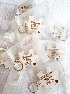 Bridal Party Keyrings