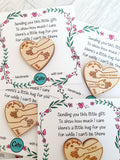 Little Pocket Hugs - 5cm 'i' version cards