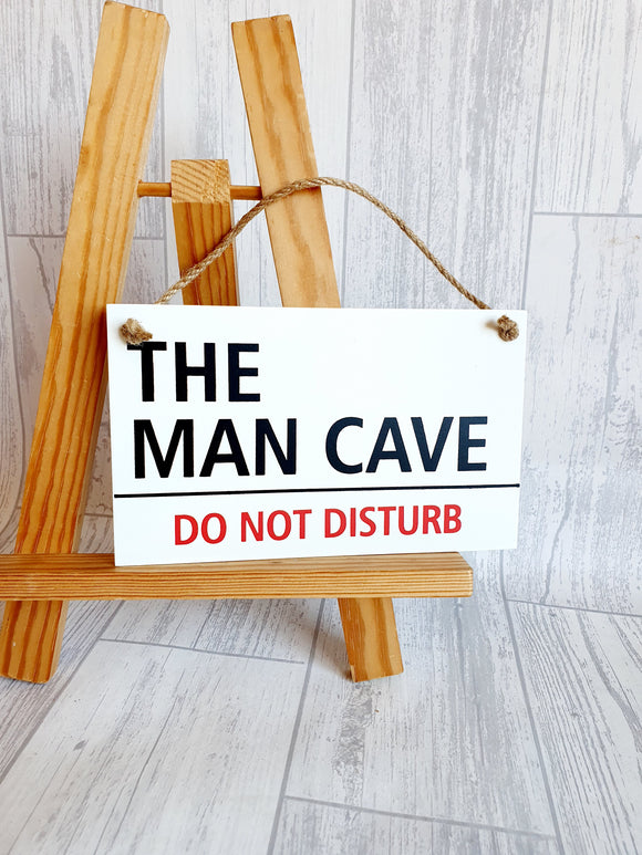 The Man Cave - Do not disturb