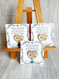Pocket Hugs for FRIENDS PRE MADE- NON PERSONALISED - 'we' version