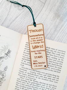Student Leavers Bookmark
