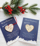 Christmas Cards Hugs 'i' version cards