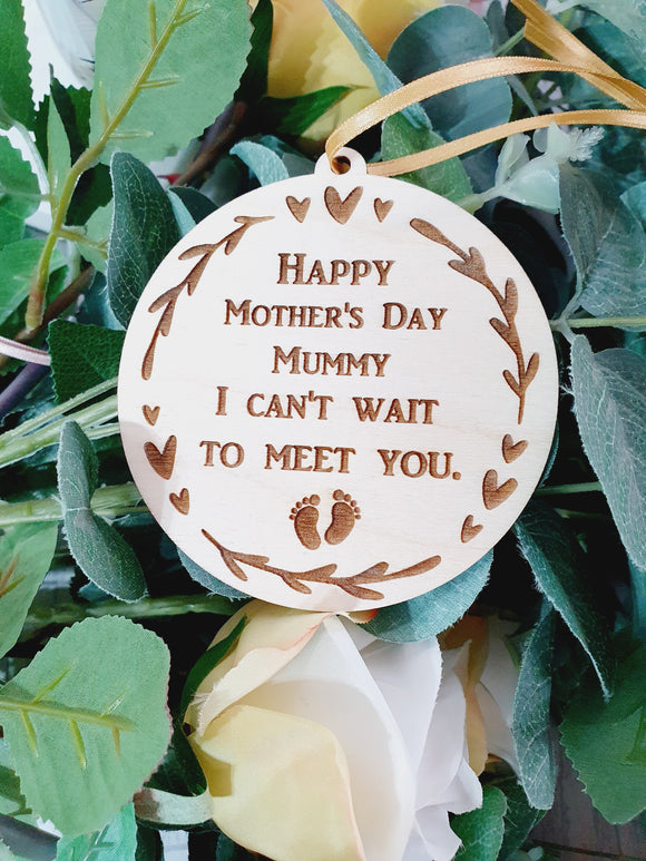 Mother's day from baby