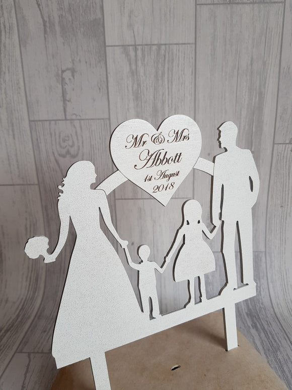 Wedding Cake Toppers - Silhoute