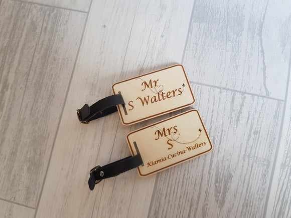 Set Of Luggage Tags