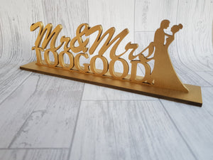 Freestanding wedding signs