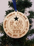 Large Family Bauble
