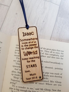 Back to School Bookmark